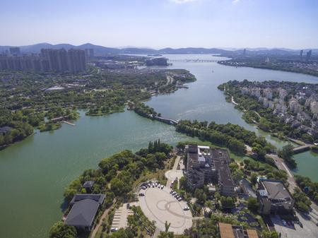 Jiangsu city scenery Stock Photo