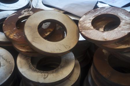 金属加工工場生産サイト 写真素材