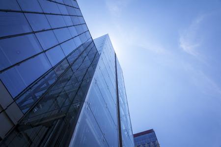 Esterno in vetro architettonico Shanghai Archivio Fotografico - 103917736