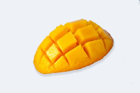 Taiwan's famous tropical fruit, mango, aroma and golden flesh 版權商用圖片