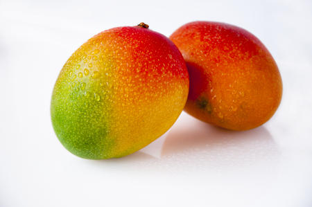 Taiwan's famous tropical fruit, mango, aroma and golden flesh Фото со стока