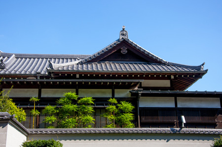 Tokyo, Japan, Ueno Park famous Buddhist temple