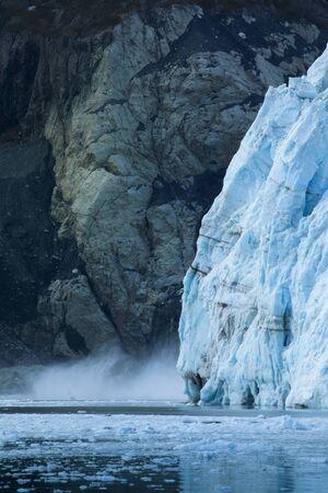 Glacier Bay National Park, Alaska, USA, World Natural Heritage Standard-Bild