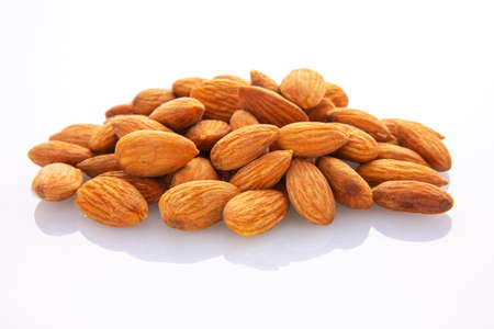 Nuts with high nutritional value, almonds,