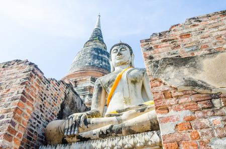 wat yai chai mongkol, Autthaya thailand