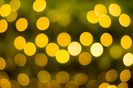 Abstract circular bokeh background of Christmas Day and New Year