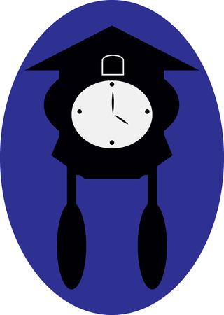 oscillation: wall clock Illustration