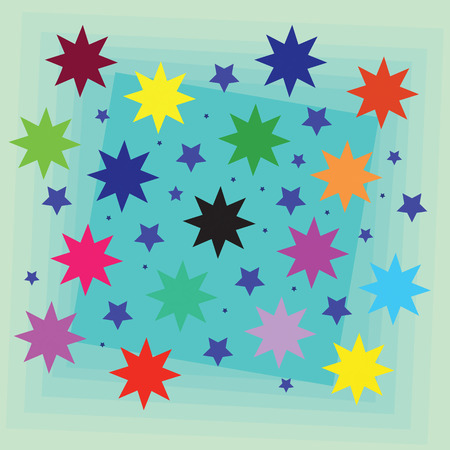 night vision: Background: Stars