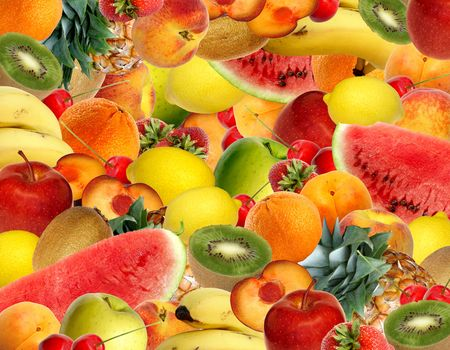 colorful fruit Stock Photo - 3115034
