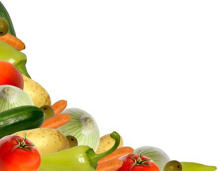 vegetable corner photo