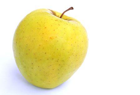 pomme jaune: Apple jaune  Banque d'images