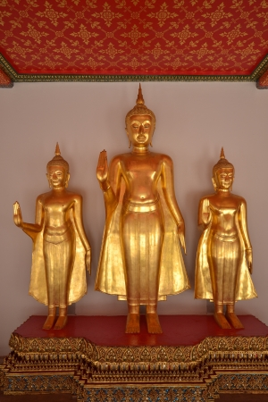 Buddha image in Wat Pho  Bangkok, Thailand photo