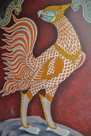 public domain: Art painting in Wat Phra Kaew Public domain , Thailand