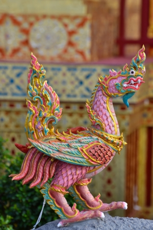 himmapan: Himmapan animal statue in the royal cremation ceremony, Bangkok Stock Photo