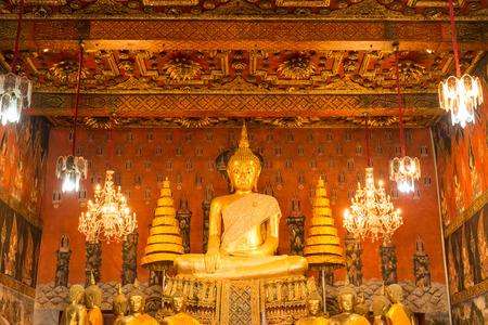 subduing: Buddha image in Subduing Mara attitude