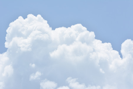 puffy: Puffy cloud in the sky