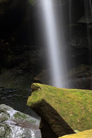 phukradueng: close up Thamyai Waterfall in phukradueng national park thailand Stock Photo