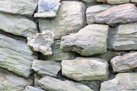 granite wall: granite rock wall