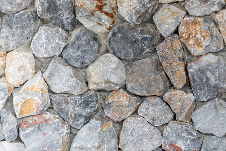 granite: granite rock wall