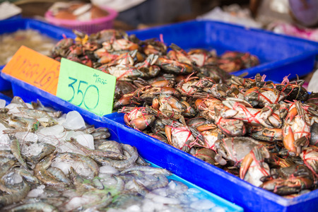 Seafood Market in Thailand
