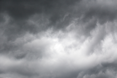 atmosphere: Dark storm clouds background Stock Photo