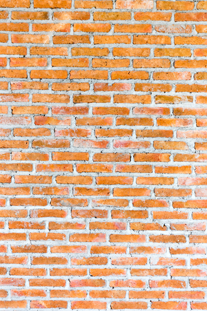 Red brickk wall background Stock Photo
