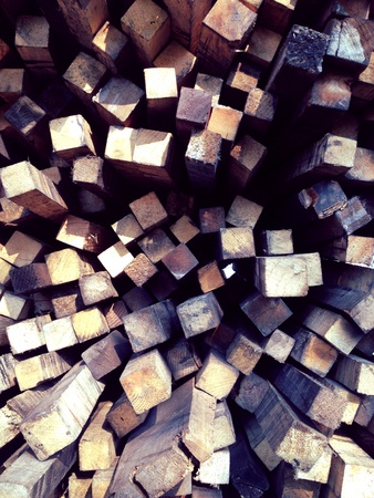 pileup: Wood pileup wallpaper