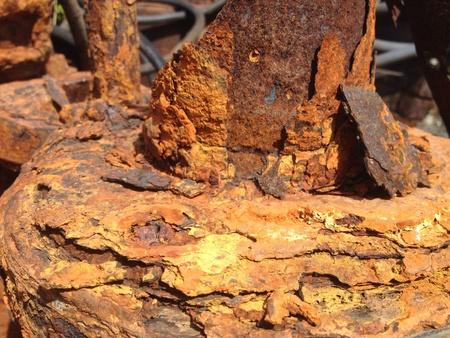 industrial: Rusting pumping