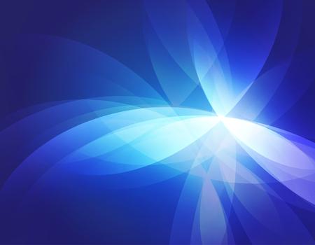 Blauwe abstracte achtergrond illustratie