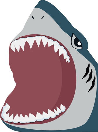 Shark  open mouth