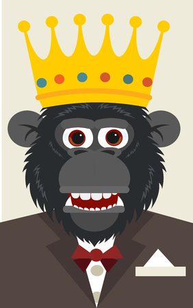 monkey business Illustration