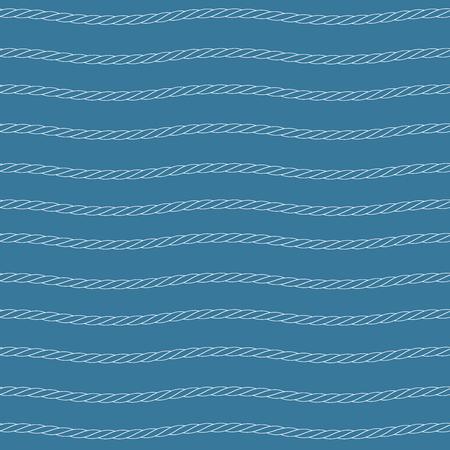 white rope pattern