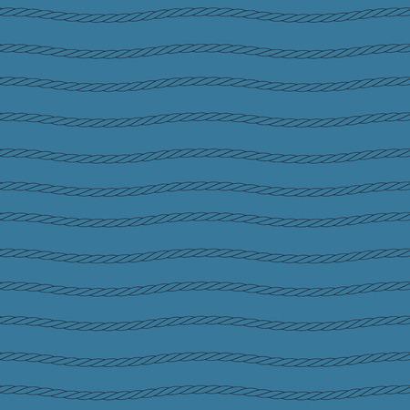 black rope pattern Illustration