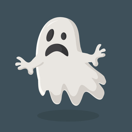 Ghost vector icon. Illustration