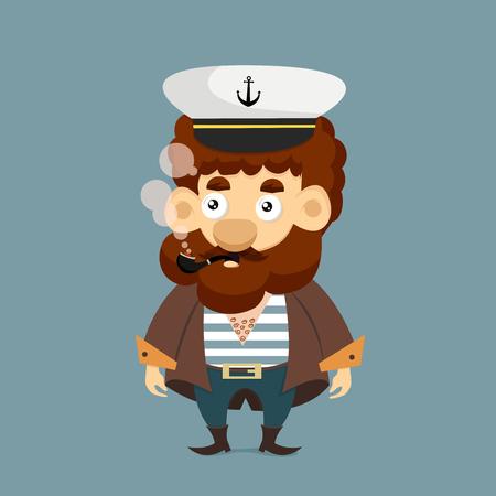 Cute Sailor character.