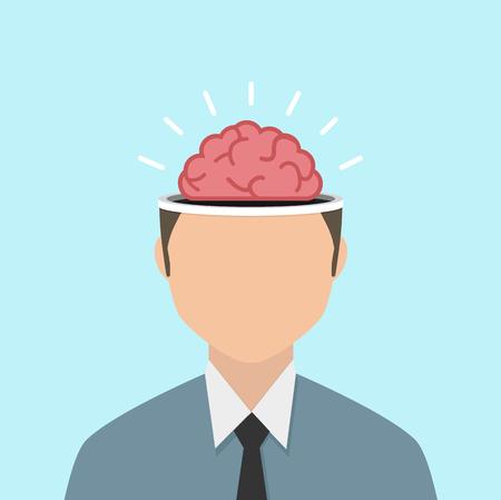 Businessman Brain storm  concept