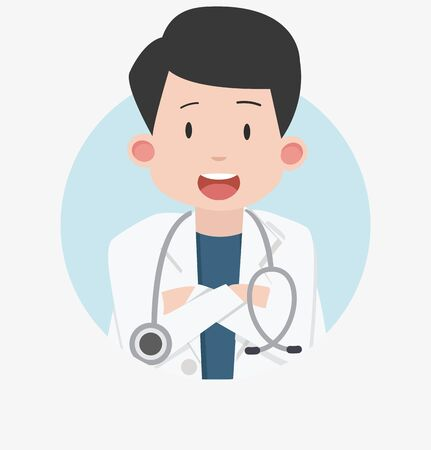 Doctor Medical cartoon design