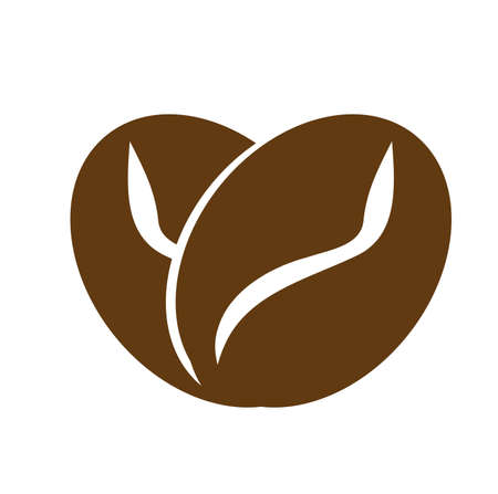 Love Coffee Logo Template, Icon, Symbol