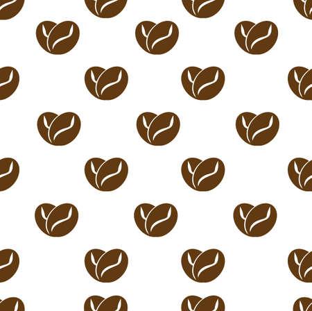 Love Coffee Logo Template, Icon, Symbol background