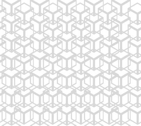 shape abstract box seamless pattern