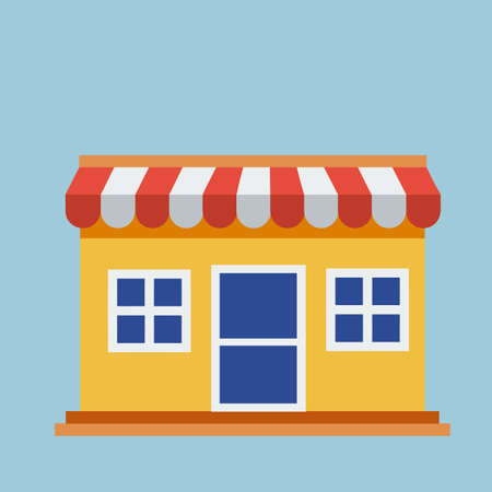 House online shop store icon