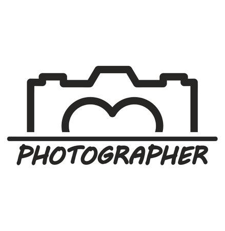 camera logo camera sign vector Illustration