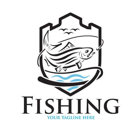 logo for fishing