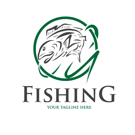 icon and logo for fishing and other