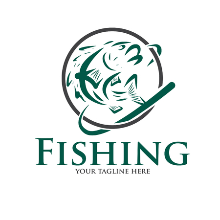 logo and icon for fishing