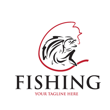 logo et icône pour la pêche