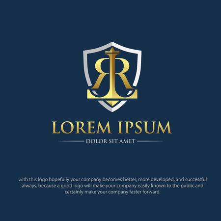 RL LAW LOGO DESIGNS Logo