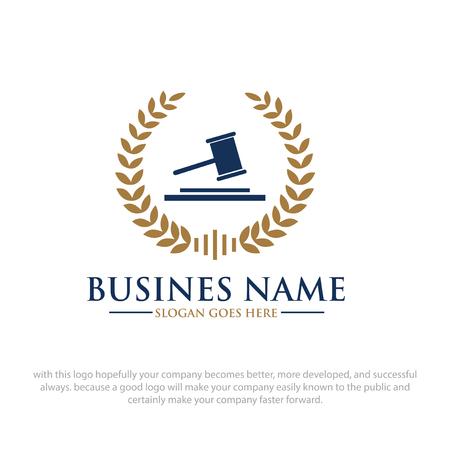 Académie de conception de logo de droit