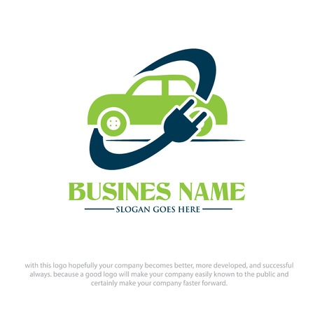 electric car logo designs Logo