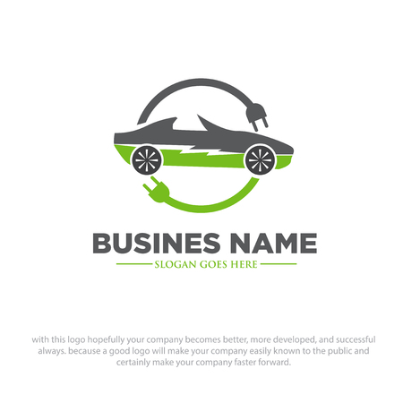 electric car logo designs